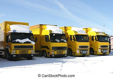 黃色, 卡車