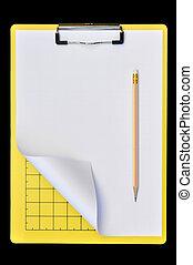 黃色, 寫, 板, 如, 黑色的背景