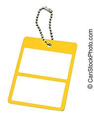 黃色, 標价牌, #3
