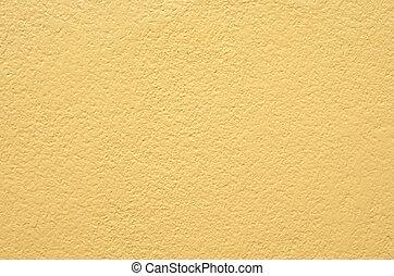 黃色, 牆, 為, 背景, 結構