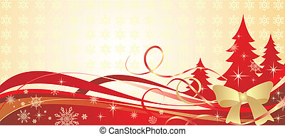 黃金, 聖誕節, 旗幟