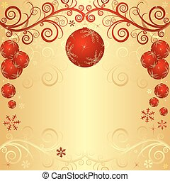 黃金, 聖誕節, 框架