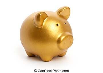 黃金, 豬一般的銀行
