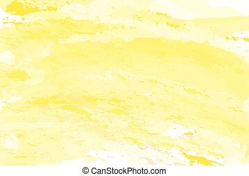 黄色, 勾配, 抽象的, 背景