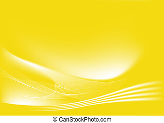 黄色, 抽象的, 背景
