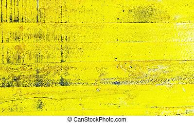 黄色, 木手ざわり, 背景