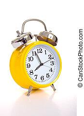 黄色, 目覚し 時計
