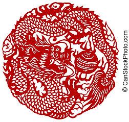 黄道帯, 中国のドラゴン