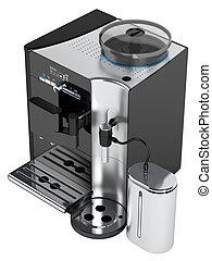 黑咖啡, 机器