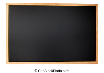 黑板, 空