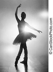 黑色半面畫像, ......的, a, 芭蕾舞女演員