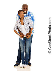 黑色的夫婦, 充分的 長度 畫像