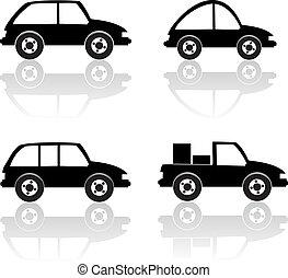 黑色, 汽車