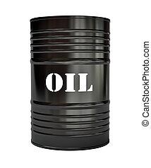 黑色, 油桶
