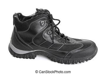 黑色, 靴子