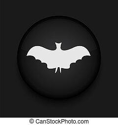 黒い円, ベクトル, eps10, icon.