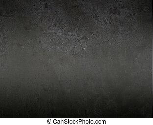 黒い背景, 手ざわり