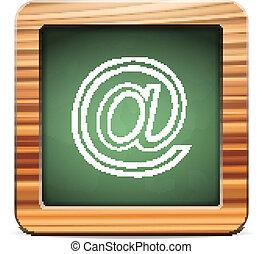 黒板, 電子メール