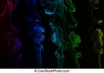 黒煙, 背景