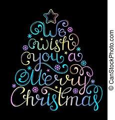 黒, お祝い, クリスマス, 背景