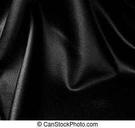 黒, サテン, 背景