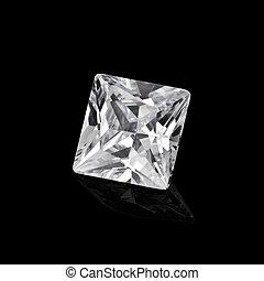 黒, ダイヤモンド, 背景