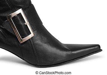 黒, ブーツ