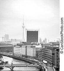 黒, ベルリン, 白