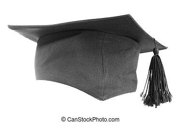 黒, 卒業式帽子