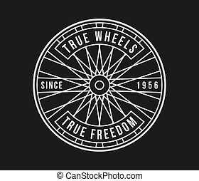 黒, 白, 本当, 車輪, bicycles