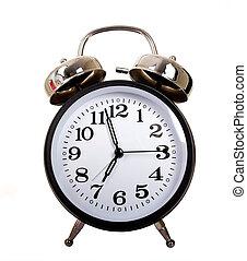 黒, 目覚し 時計