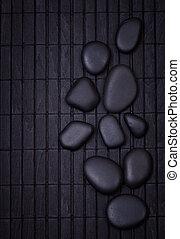 黒, 禅, 石