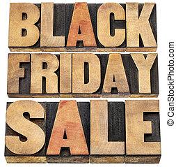 黒, 金曜日, セール