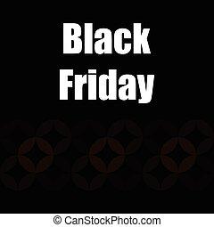 黒, 金曜日, 旗