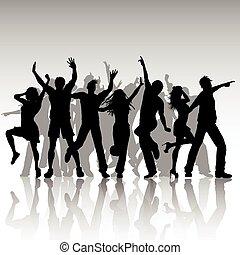 黨, 人們, 跳舞