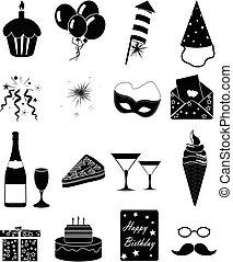 黨, 生日, 集合, 圖象