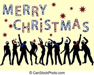 黨, 聖誕節
