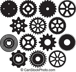 齒輪, 彙整, 機器, 齒輪