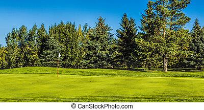 가을, 과정, 골프