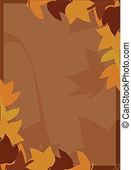 가을, 배경