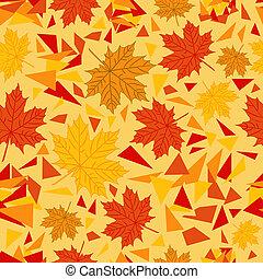 가을, 패턴