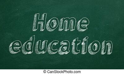 가정, 교육