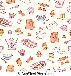 가정 굽기, 패턴