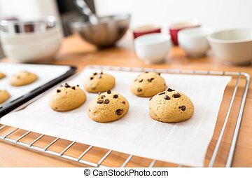 가정, 쿠키, 빵 굽기