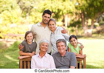 가족, 공원안에
