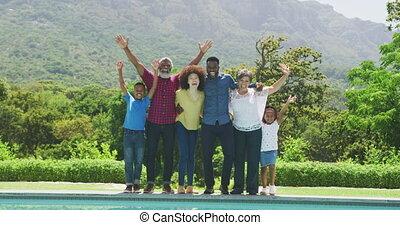 가족, 지출, 가정, 행복하다, 함께, 시간