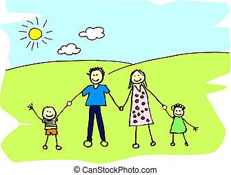 가족, 행복하다
