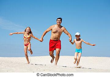 가족, 휴가에