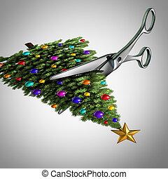 가지를 짧게 치다, 통하고 있는, 크리스마스
