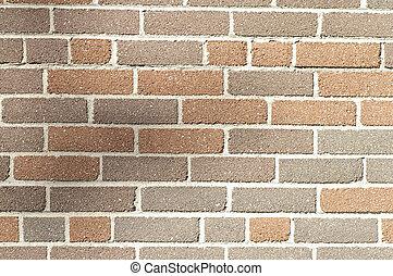 갈색의, 다의, 벽돌